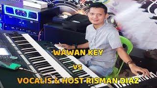 VIRAL VOCALIS & HOST RISMAN DIAZ FROM GORONTALO VS WAWAN KEY
