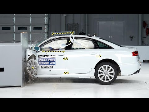 Audi A6 2016 obtiene el Top Safety Pick+
