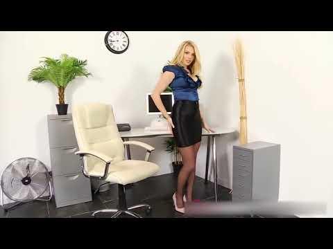 Hot Girl in Office