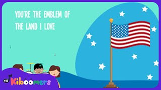 Youre A Grand Old Flag Song For Kids | American Patriotic Music For Children | The Kiboomers
