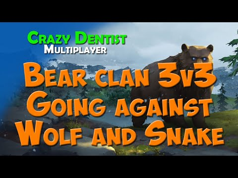 Northgard Bear clan in 3v3 | Going against Wolf and Snake