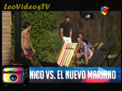 A Nicolas no le gusta el nuevo Mariano GH 2015 #GH2015 #GranHermano