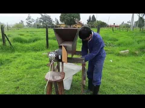 Prototipo Maquina Ventilador Para Limpiar Quinoa