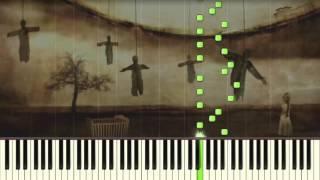 The Exorcist - Theme - Piano tutorial (Synthesia)