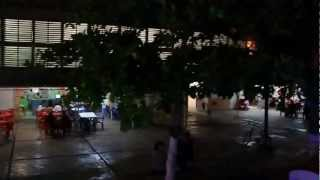 preview picture of video 'Ciudad de noche Ticul'