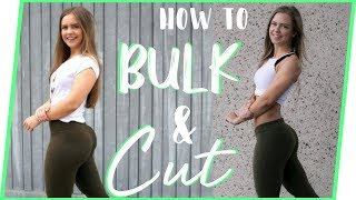 BULKING VS CUTTING - HOW TO DO IT || GETTING FIT - series EP. 6