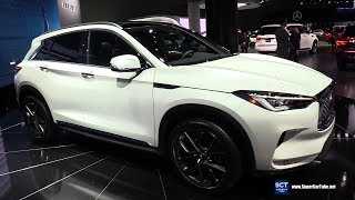 2019 Infiniti QX50 - Exterior and Interior Walkaround - 2018 LA Auto Show