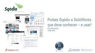 Portais e recursos online Sqédio e SolidWorks que deve conhecer - e usar!