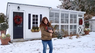 How We Winterized Our Chicken Coop! 🐓❄️🥰// Garden Answer