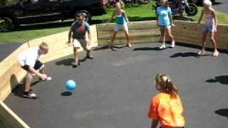 Gaga Ball Portable & Permanent Pits by Coach Cliff