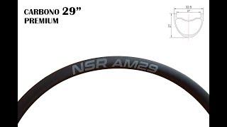 Llantas de #Carbono #NSR AM29 para #Ruedas #MTB: conoce sus ventajas en #Nosoloruedas