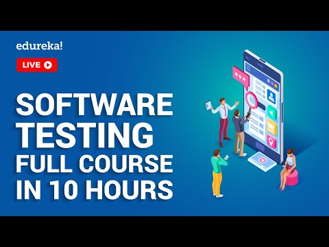 Software Testing Full Course In 10 Hours | Software Testing Tutorial ...