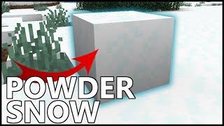 How To Get POWDER SNOW In Minecraft