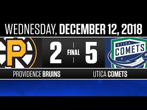 Bruins vs. Comets | Dec. 12, 2018