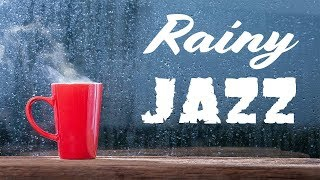 Relaxing Rainy Jazz - Lounge Jazz Radio - Music For Work & Study - Live Stream 24/7