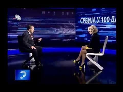 Upitnik,100 dana vlade-premijer Ivica Dacic (23.10.2012),4 deo