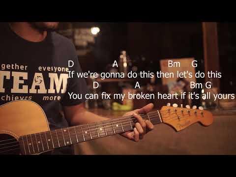 Lyrics and Chords Jason Mraz feat. Meghan Trainor - More Than Friends