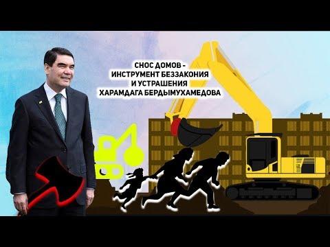 Туркменистан: Снос Домов - Инструмент Беззакония и Устрашения Харамдага Бердымухамедова