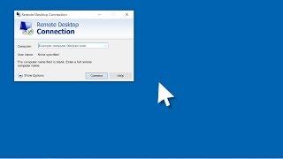 Windows 10 - How to Set Up Remote Desktop Connection