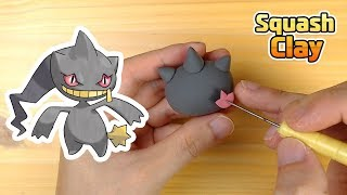 Banette  - (Pokémon) - Sculpting Banette Ghost-type Pokémon Clay art