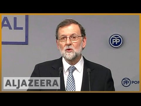🇪🇸 Spain: Ex-PM Rajoy 'to step down' as leader of conservative party | Al Jazeera English