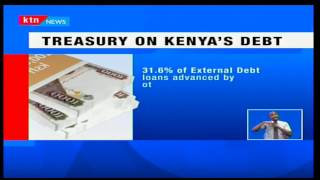 KTN Prime: Kenya's debt moves to 3.5 trillion shillings due to local and international investments