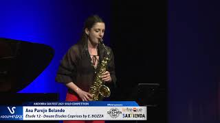 Ana Parejo Belando plays Étude 12   Douze Études Caprices by Eugène BOZZA
