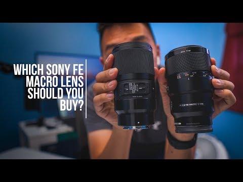 Which Macro Lens? Sigma 70mm F2.8 vs Sony 90mm F2.8 OSS