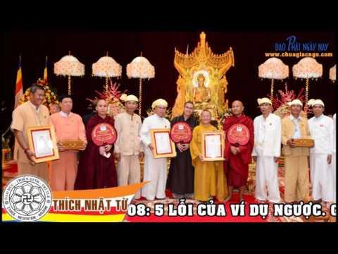 Logic học Phật giáo (2010) - Bài 8: 5 lỗi của ví dụ ngược