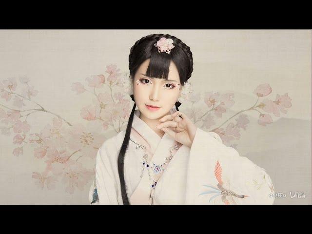 Hướng Dẫn Makeup Cổ Trang ❀ 24 Tiết Khí ❀ Xuân Phân  【晴晴】❀二十四节气❀春分❀
