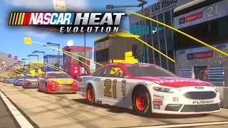 Clip of NASCAR Heat Evolution