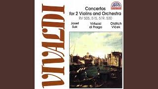 Virtuosi Di Praga, Josef Suk & Oldrich Vlcek - Concerto for 2 Violins, String Orchestra and Basso Continuo No. 57 in B-Flat Major