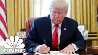 LIVE: President Donald Trump Signs Bill to Cut Bank Regulations - May 24, 2018 | CNBC