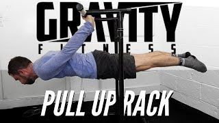 Pull Up Rack 2.0 [Gravity Fitness] Assembly Tutorial & workout
