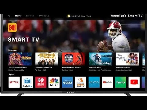 Kodak 102 cm (40 inch) Full HD LED Smart TV  40FHDXSMART PRO Unboxing & Review