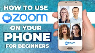 HOW TO USE ZOOM MOBILE APP ON YOUR PHONE 2020   Step By Step Tutorial For Beginners (ANDROID & IOS)