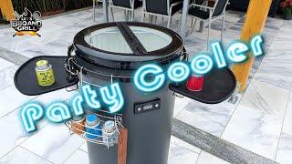 Party Cooler BE COOL, die Alternative zum Outdoor Kühlschrank