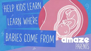 Help kids learn where babies come from [with Scoops & Friends]