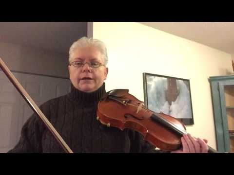 Good posture works on three fronts- bowing, fingering, and shifting.