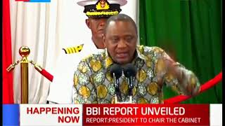 Uhuru Kenyatta: We need to focus on development and getting rid of poverty