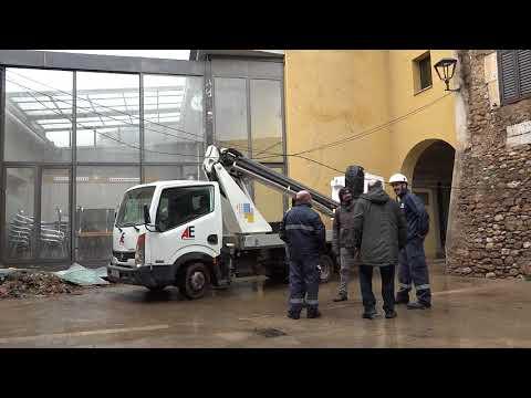 Tornado o esclafit a Cistella i Terrades