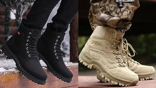 Mens New Latest High Neck Boots Shoes Casual Shoes Support Shoes Leather Shoes Design 2020