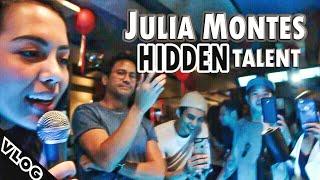 JULIA MONTES HIDDEN TALENT | Vlog 19