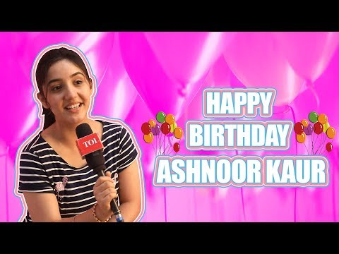 Exclusive: Ashnoor Kaur celebrates her birthday with reel