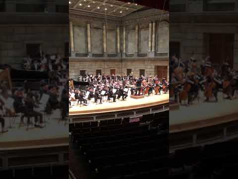 In this video, I am playing 4th Horn in Pines of Rome by Respighi with the Eastman School Symphony Orchestra!