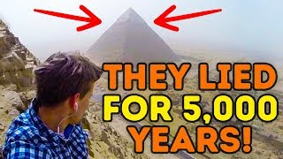 The Great Pyramid Mystery Has Finally Been Solved