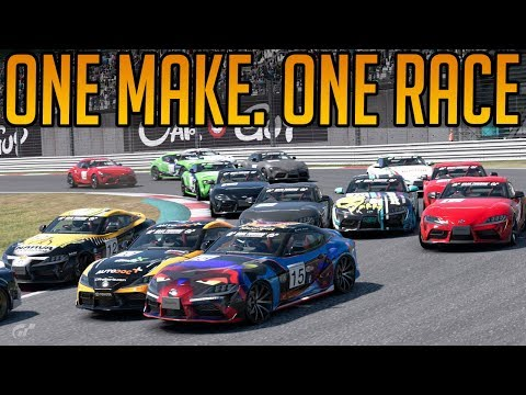 Gran Turismo Sport: One Make. One Car. One Strange Race