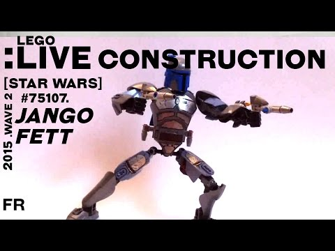 Vidéo LEGO Star Wars 75107 : Jango Fett