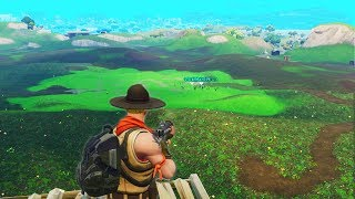 Destroying the ENTIRE Forest in Fortnite Battle Royale