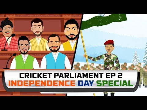 Independence day 15th august Cricketers in Parliament #Independenceday #15thAugust